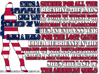 Last Of The American Girls - Green Day Song Lyric Quote in Text Image