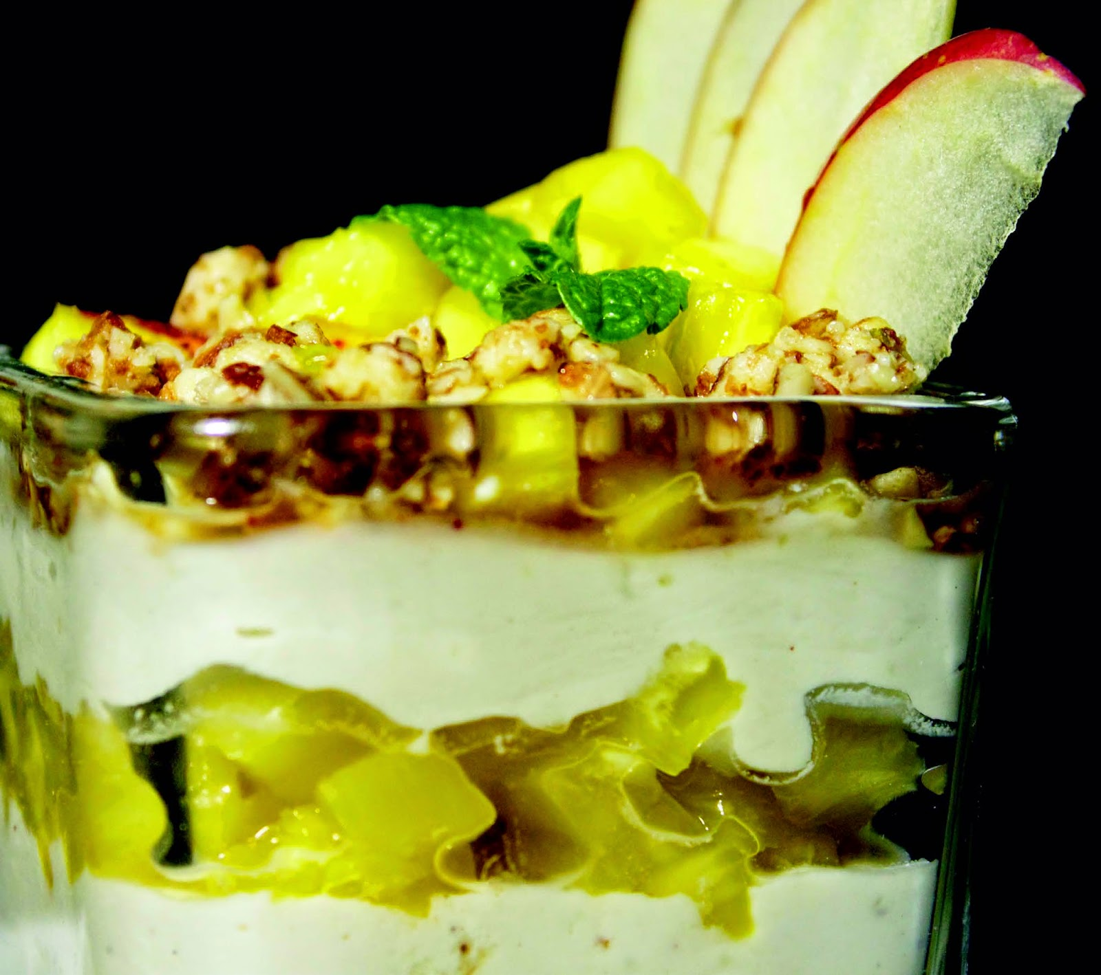 Vegan Recipe - Raw Lime Parfait from The HappyCow Cookbook