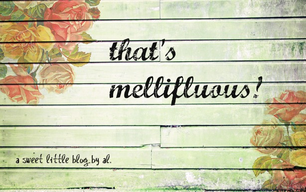 that's mellifluous!