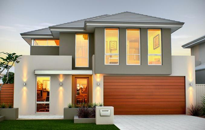 rumah minimalis 2 lantai elegan