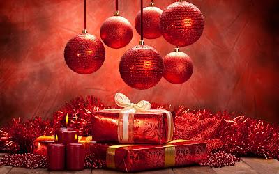 Esferas y regalos de navidad - Christmas balls and gifts