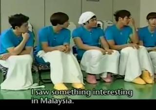Artis korea bercakap tetang wanita Malaysia pada suatu rancangan bual bicara, Artis Korea Puji Orang Malaysia
