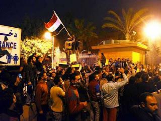 El Cairo durante las revueltas