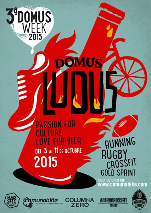 III Carrera Domus Week en Toledo