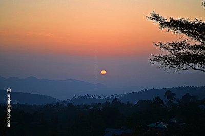 Baijnath, Sunset, Picture, Himachal