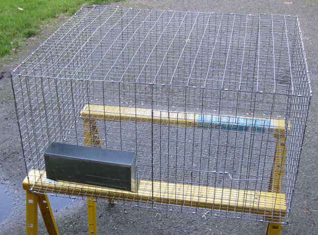 Homemade Rabbit Cage Plans