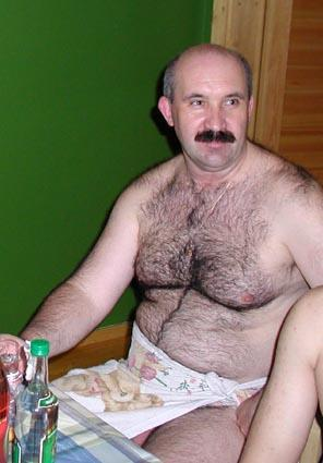 men Nude hairy turkish bear
