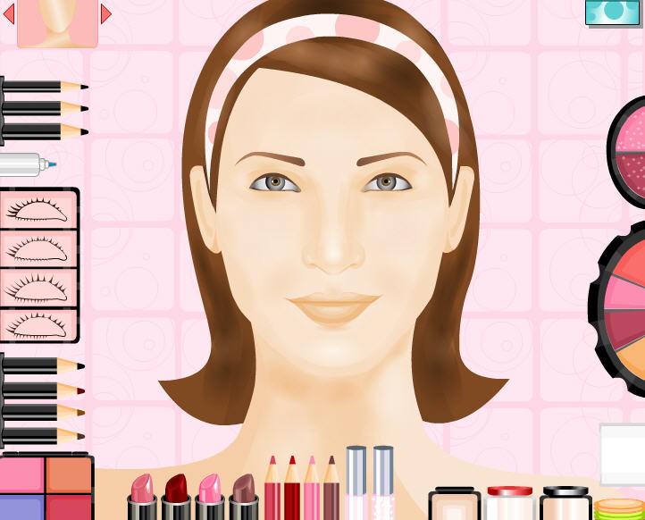 Jeux de fille - Maquillage photo gratuit ...