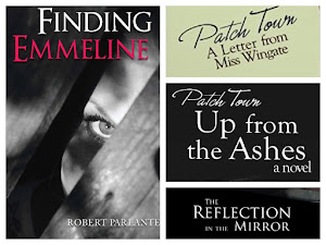 "Here's my 4th book titled ""Finding Emmeline""."