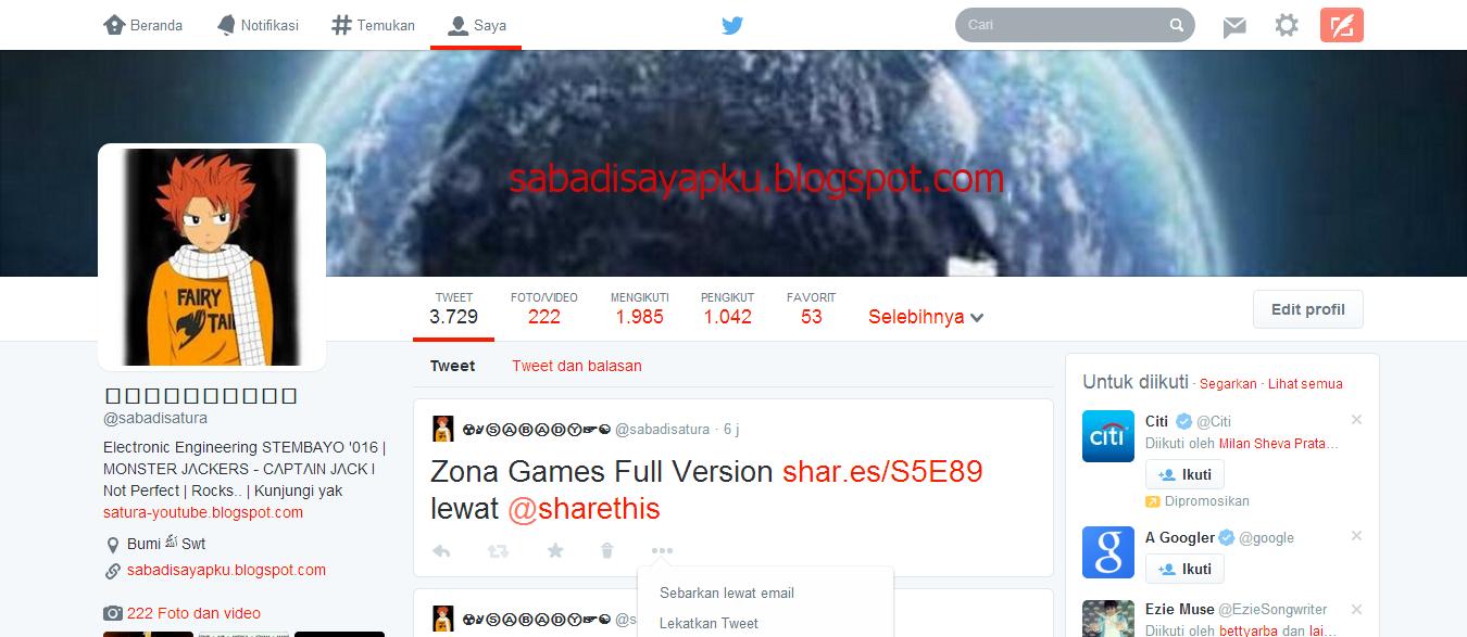 Cara Mengembalikan Tampilan Baru Twitter Ke Versi Lama | New Update 2014