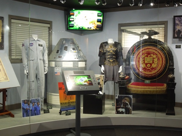 NBC Universal costume prop exhibit April 2012