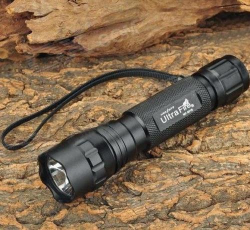 NEWEST UltraFire WF-501B CREE XM-L2 T6 U2 TLED 1200LM 1 Mode Flashlight Torch