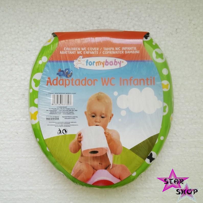 Adaptador Baño Ninos:ADAPTADOR REDUCTOR BLANDO WC NIÑO BEBE BAÑO ORINAL COVER SOFT BABY