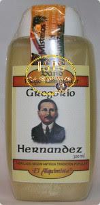 BAÑO DESPOJOS RITUAL GREGORIO HERNÁNDEZ
