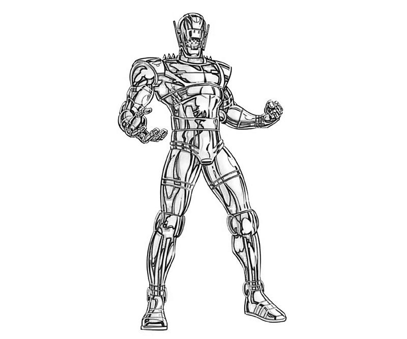 Coloring Pages Avengers Ultron : Coloring avengers and marvel on pinterest pages