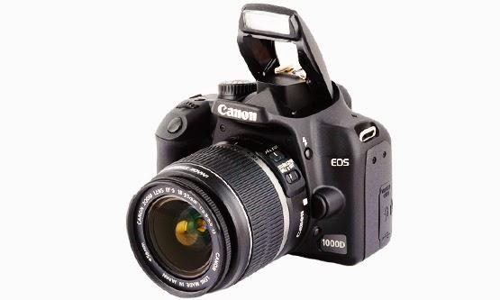 Daftar Harga dan Spesifikasi Kamera Digital Canon EOS 1000D