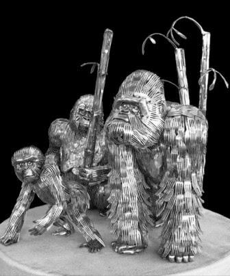20 seni sendok garpu gorilla