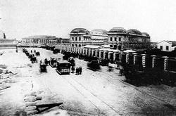 1884. Al fondo la legislatura en construcción