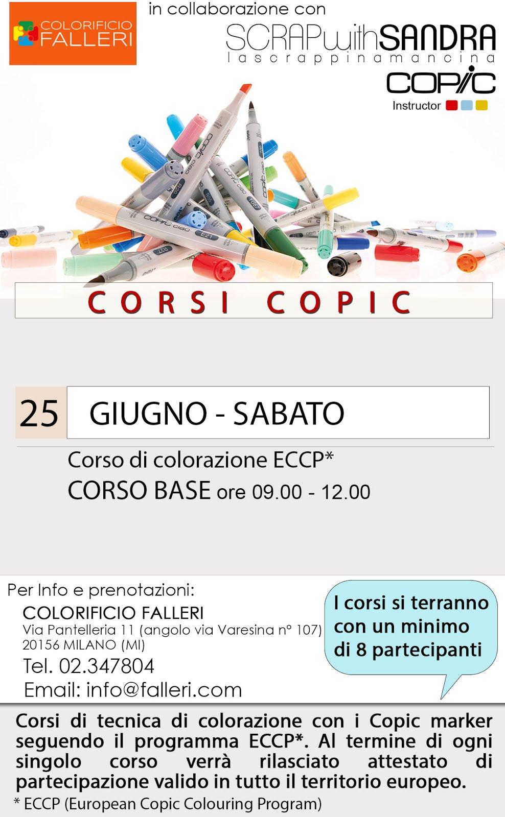 CORSO COPIC BASE A MILANO