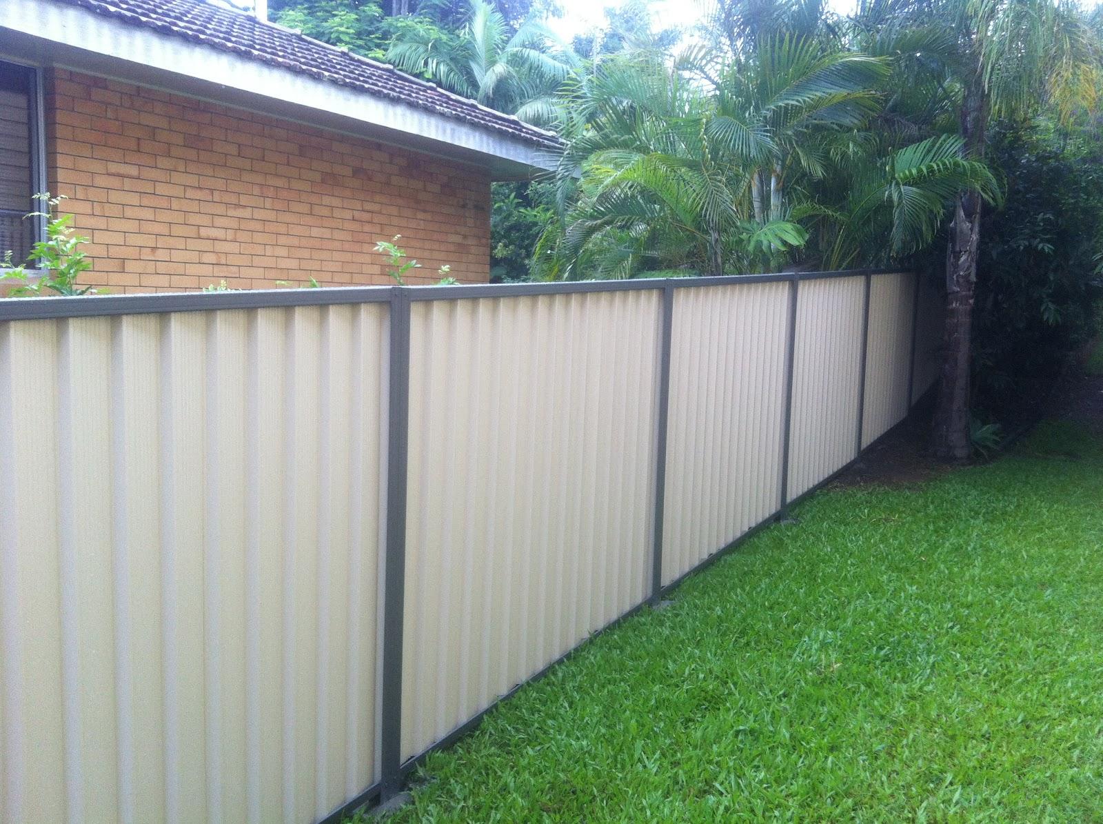 Collinson Fencing Colorbond Fencing Manly Queensland