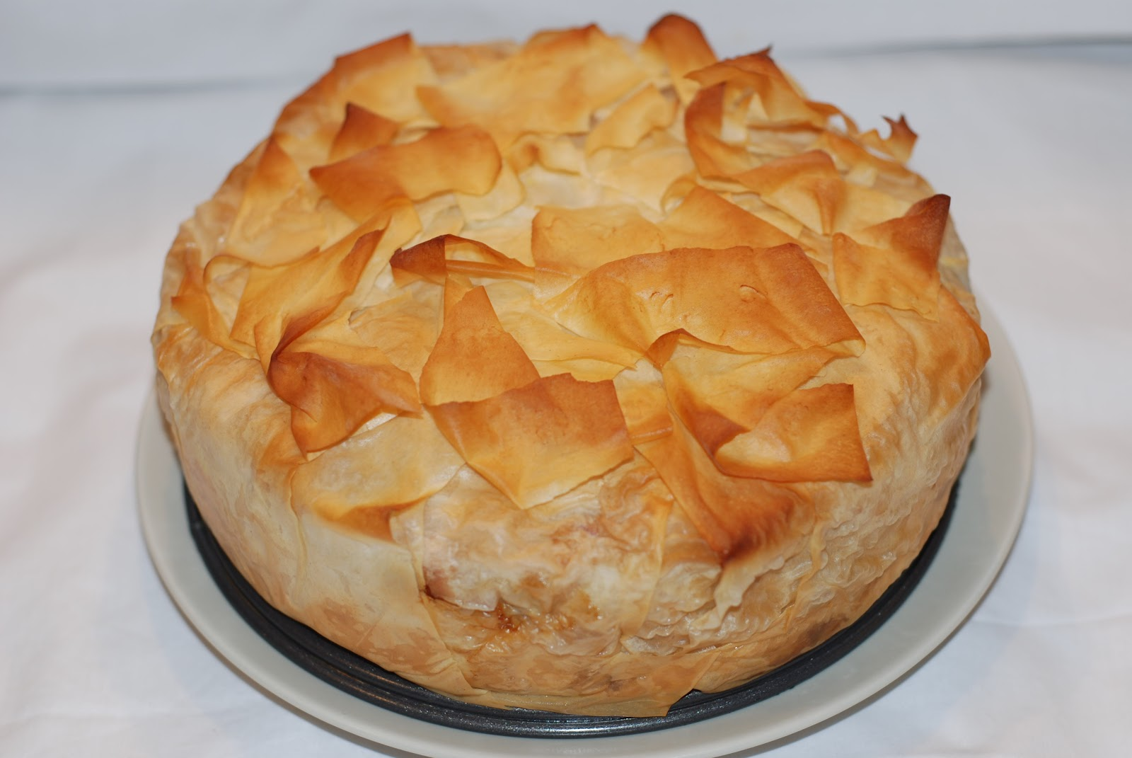 Bitter Sweet Bakery Filo Vegetable Pie
