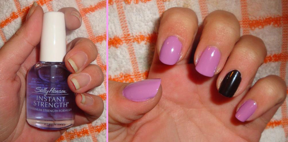 Todo Sobre Manos y Pies: Manicure con Uñas de Color Lila