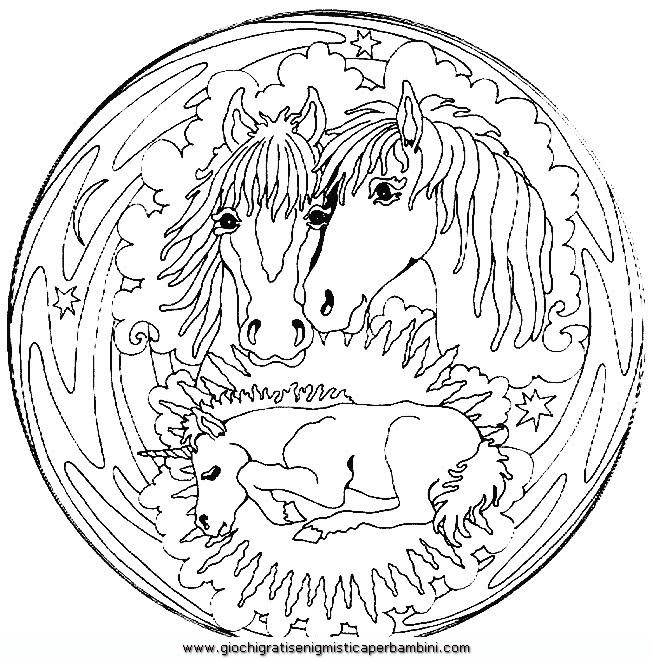 Daniele angius mandala disegni da colorare per bambini for Mandala da colorare con animali