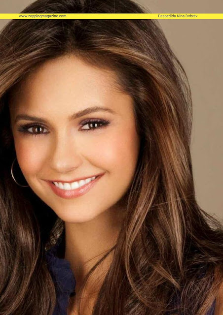 Beautiful actress Nina Dobrev in Zapping June 2015 issue