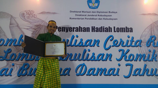 Pemenang Lomba Penulisan Cerita Rakyat Nusantara