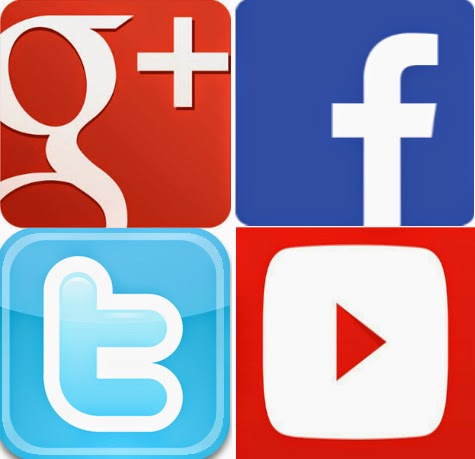 Echando un vistazo las redes sociales como expertos