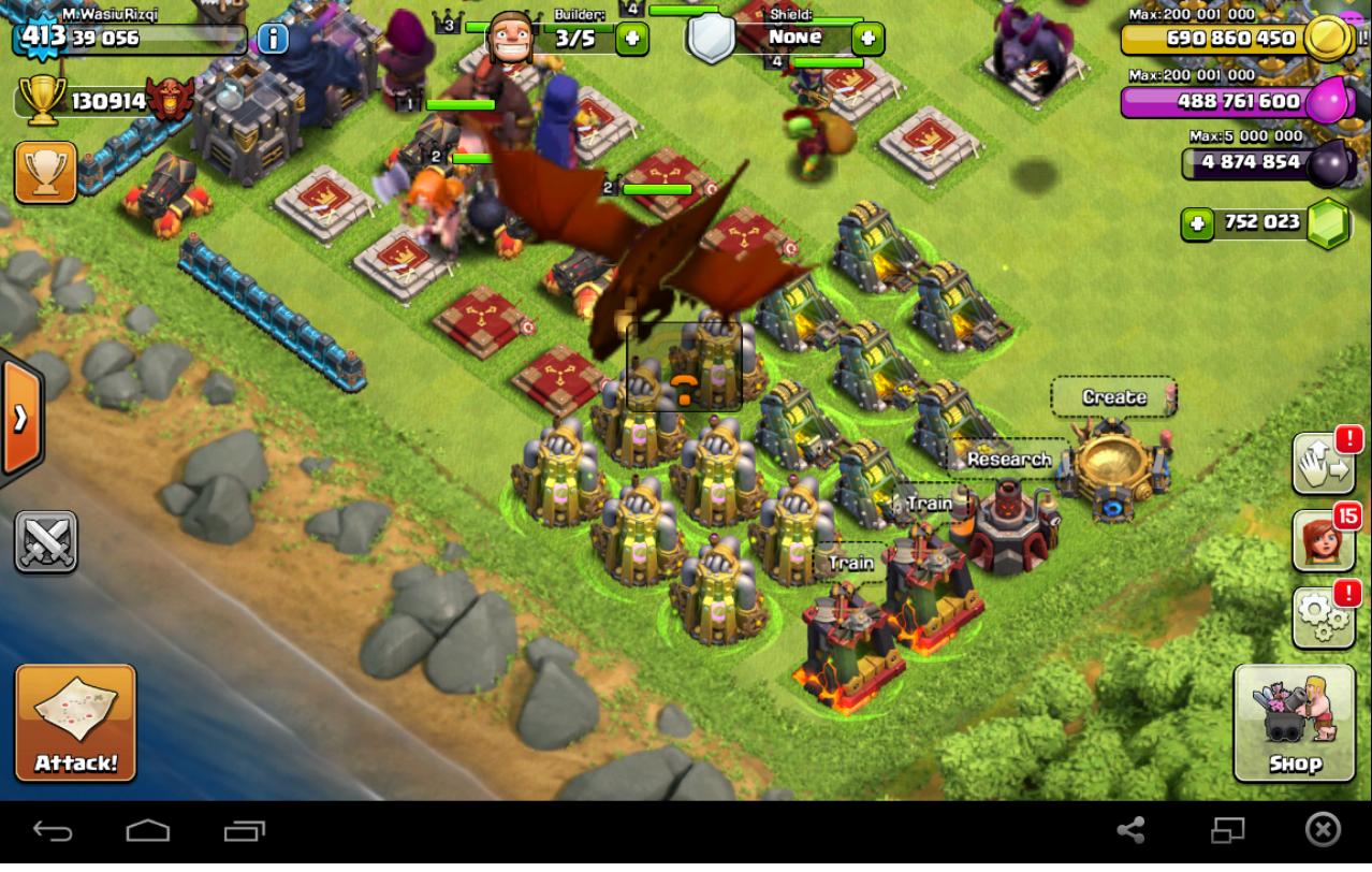 ... hall level 10 - Clash of clans apk free download hack - domdomkids.com