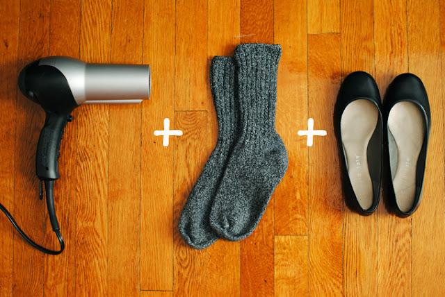 靴を2分で履き慣らす方法