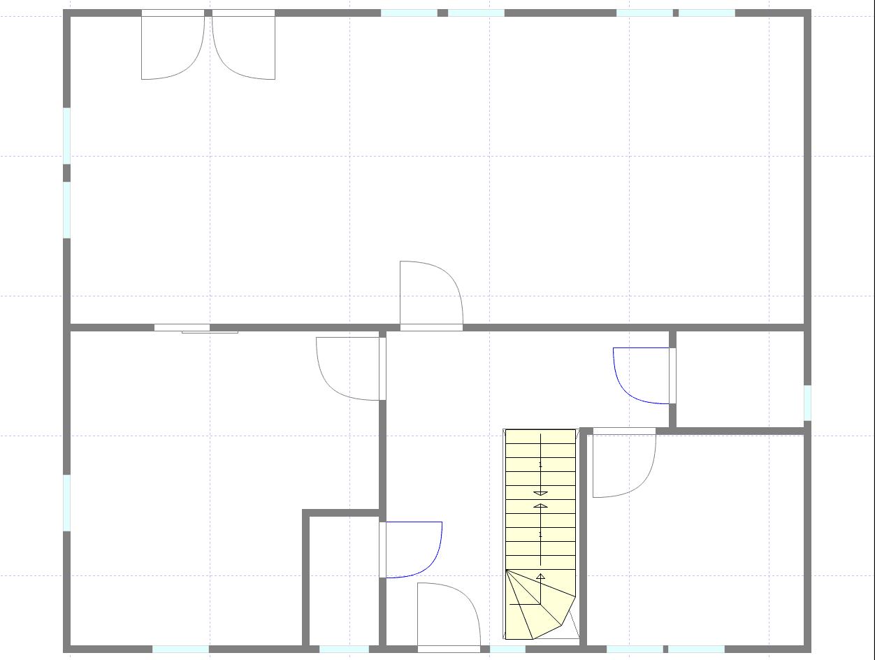 m m bauen ein grundriss ensteht. Black Bedroom Furniture Sets. Home Design Ideas