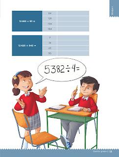 Apoyo Primaria Desafíos matemáticos 5to grado Bloque I lección 4 Anticipo el resultado