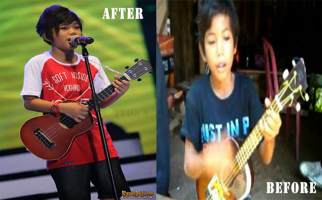 Tegar Septian before and after (Aku Yang Dulu)