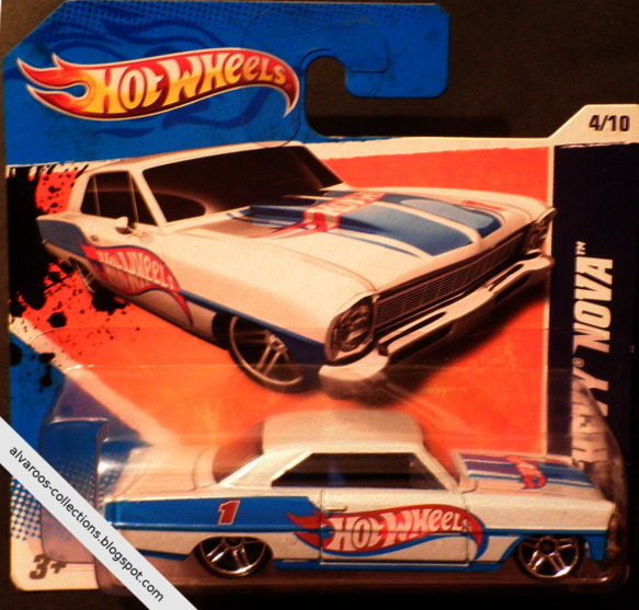 Hot Wheels:  Chevy Nova