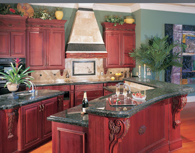 Use Cherry Kitchen Cabinets For A Sophisticated Look