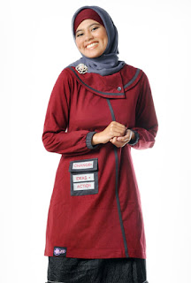 blus muslimah ukuran jumbo