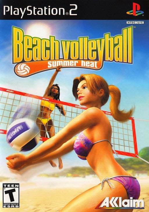 SUMMER HEAT BEACH VOLLEYBALL PS2
