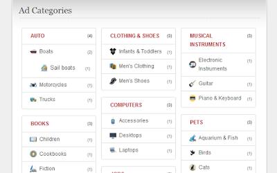 Category Icons plugin To Wordpress Theme ClassiPress