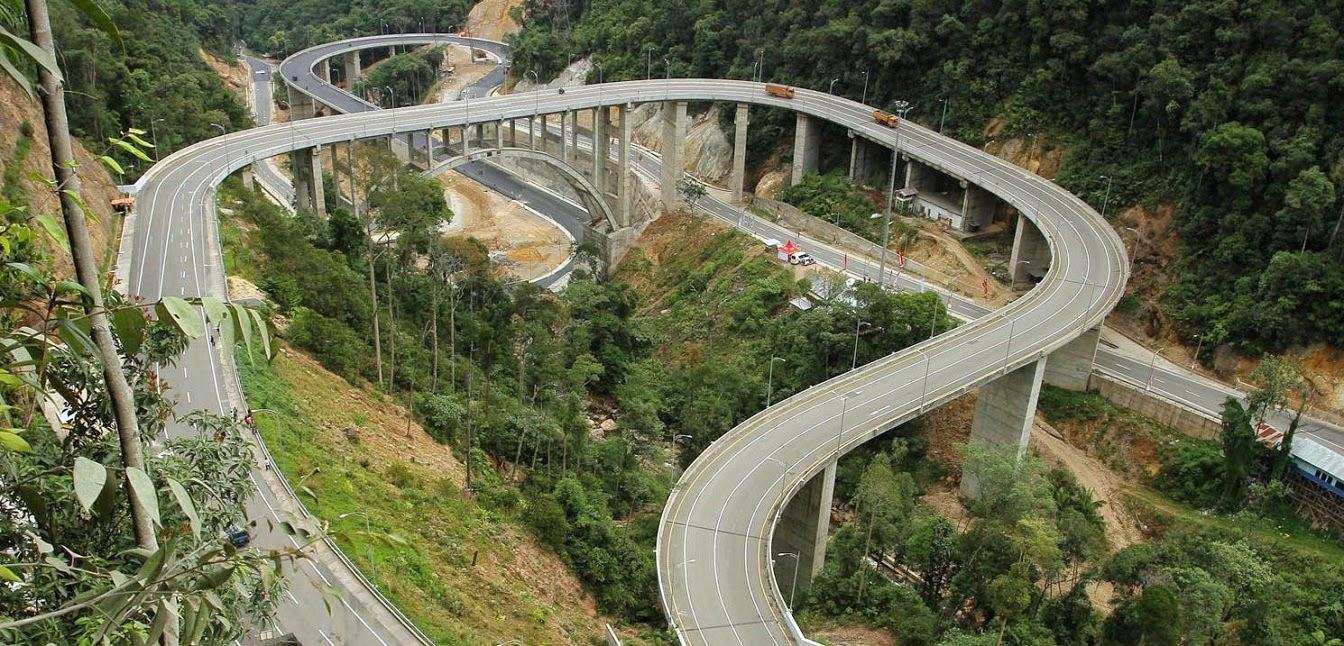 jembatan layang kelok sambilan