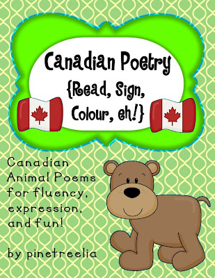 Easy fun Canadian Symbol Activities