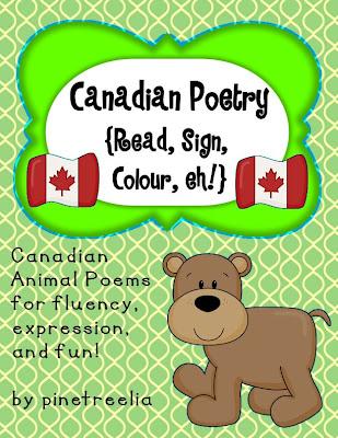 Easy fun Canadian Symbol Activities