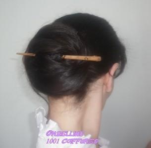 1001 coiffures: Chignons avec pics