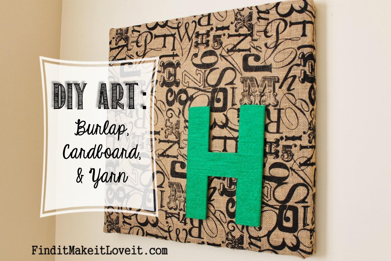 http://www.finditmakeitloveit.com/2014/01/diy-art-burlap-cardboard-yarn.html