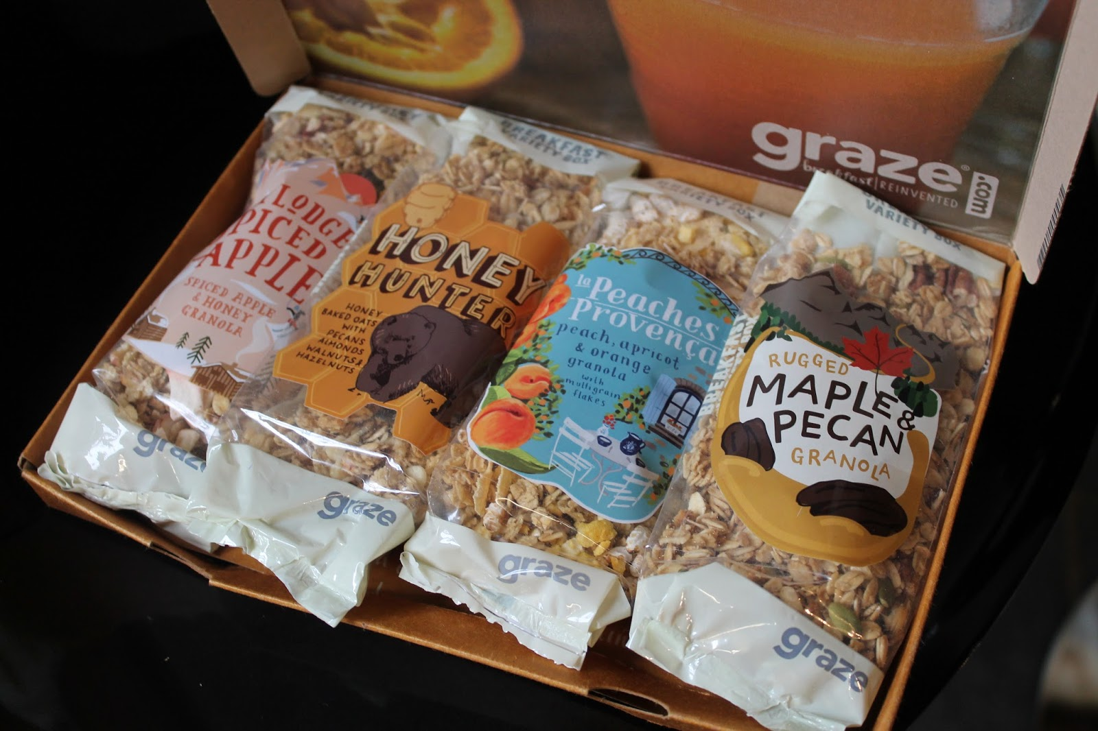 Graze Breakfast Box Review - Granola Porridge