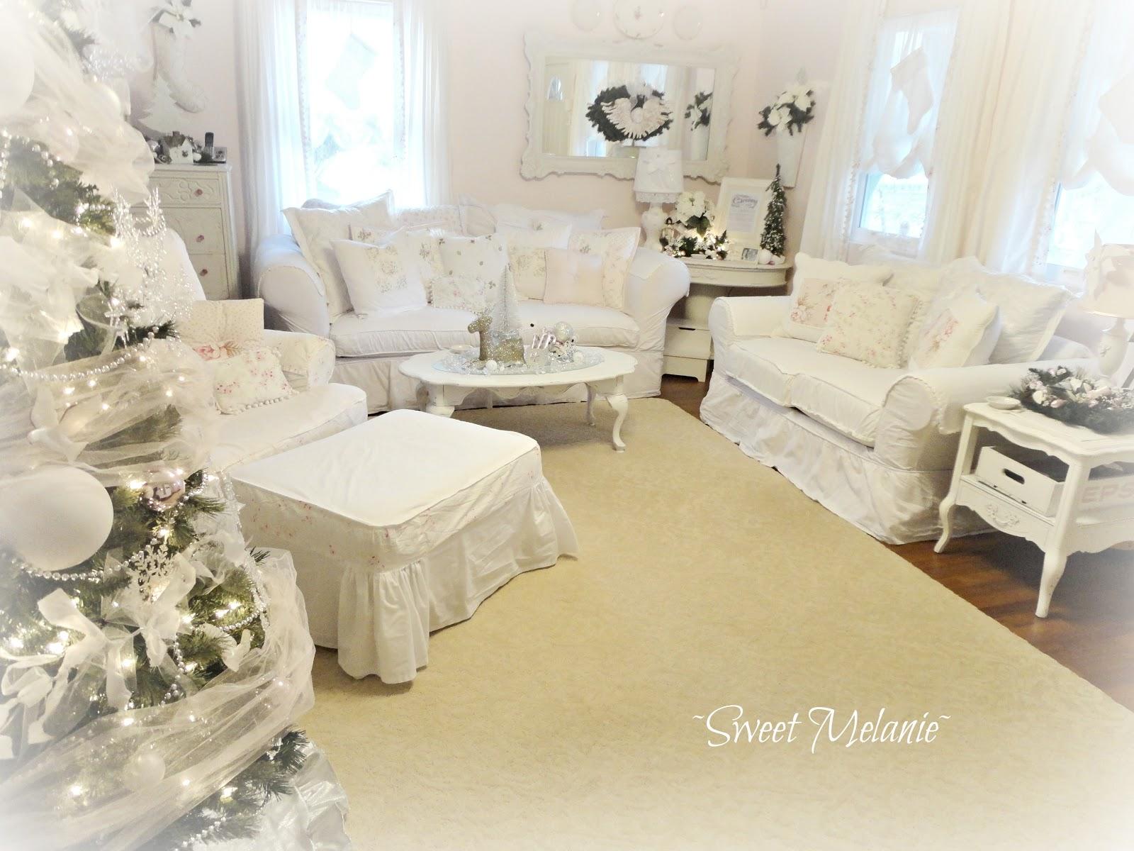 Olivia s romantic home shabby chic living room - Olivia S Romantic Home Sweet Melanie S Holiday Home Tour