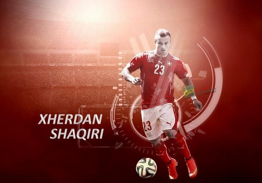 Híbrido Suiza - Chikhaoui, Shaqiri FIFA 15 Ultimate Team, Hybrid FUT 15