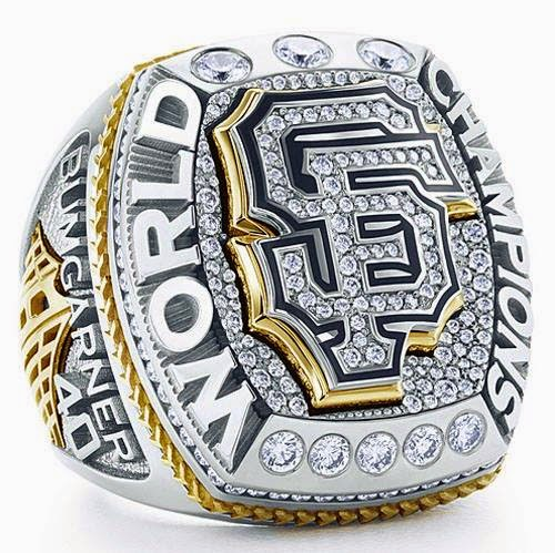 Authentic Sf Giants World Series Rings For Slae