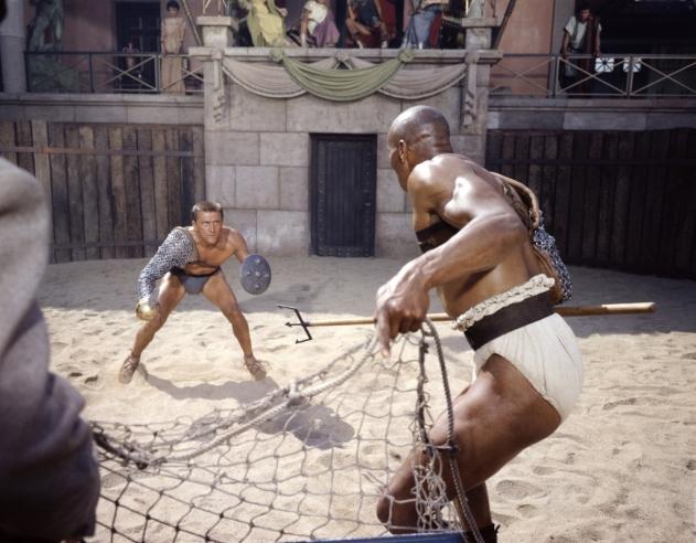 Doctor Ojiplático. 'Spartacus': Behind the Scenes